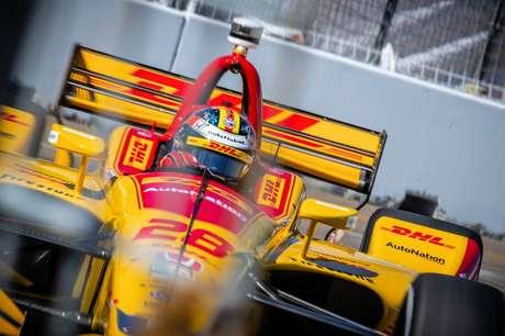 GP de São Petersburgo: Ryan Hunter-Reay lidera TL2 na Flórida; brasileiro Matheus Leist é o 11º