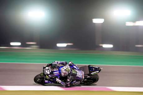 GP do Catar: Maverick Vinales garante a primeira pole do ano da MotoGP; Valentino Rossi larga em 14º