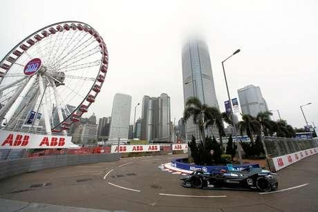 ePrix de Hong Kong: no molhado, Stoffel Vandoorne conquista sua primeira pole na Fórmula E