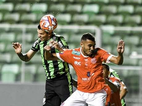 O Coelho chegou aos 21 pontos e pode assumir a liderança do Mineiro no clássico contra o Galo, 17 de março-Divulgação/América-MG