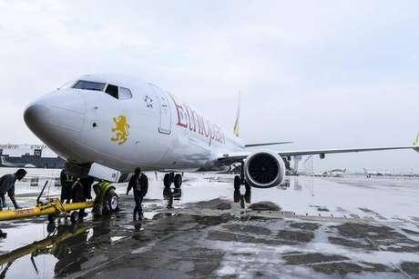 Avião semelhante ao que se acidentou na Etiópia