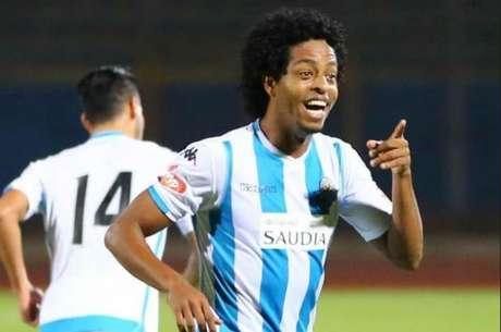 Keno está jogando no Pyramids FC, do Egito (Foto: Divulgação/Pyramids)