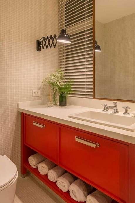 17. Tons de vermelho podem levar mais personalidade para a decoração dos ambientes – Foto: Pinterest