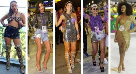 Famosas no pós-Carnaval (Fotos: AgNews)