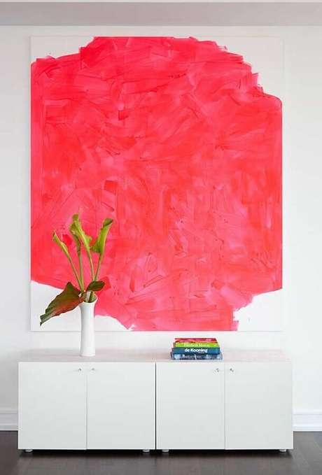 1. Você pode utilizar apenas detalhes em tons de vermelho na decoração de sua casa – Foto: Zozu