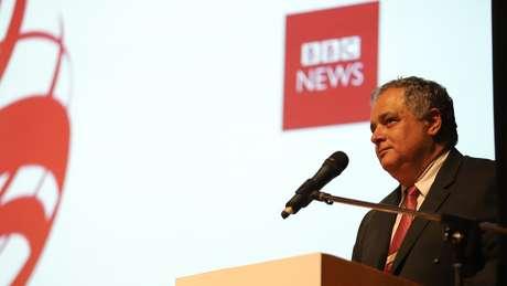 """O vice-procurador-geral eleitoral, Humberto Jacques de Medeiros, participou do seminário """"Beyond Fake News - Em busca de soluções"""", da BBC News Brasil"""