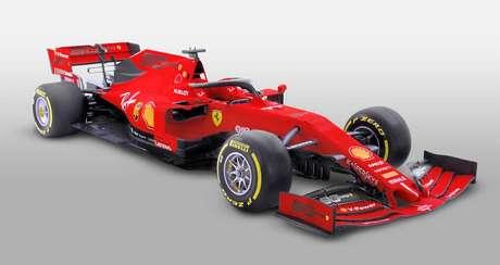 Ferrari apresenta pintura comemorativa para o GP da Austrália
