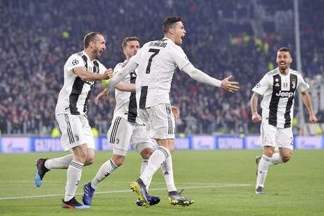 A Juventus bateu o Atlético de Madrid com hat-trick de Cristiano Ronaldo