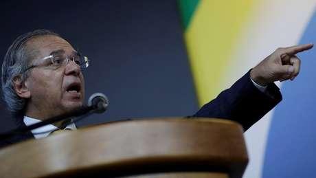 Ministro da Economia, Paulo Guedes, defende desvinculação do orçamento