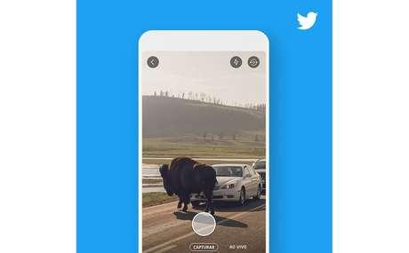 O Twitter vai desenvolvernovos recursos para a câmera nos próximos meses