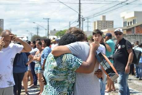 Movimentação após tiroteio na Escola Estadual Raul Brasil, em Suzano