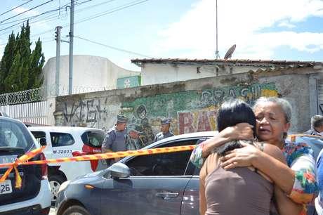 Movimentação após tiroteio ocorrido na Escola Estadual Raul Brasil de Suzano, na Rua Otávio Miguel da Silva, em Suzano, na Grande São Paulo, nesta quarta-feira, 13
