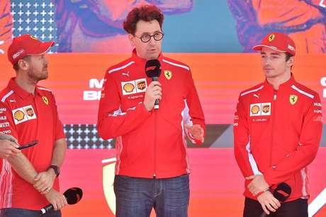Ferrari deixa Vettel e Leclerc livres para correr