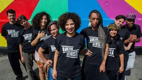 Os integrantes da bancada ativista