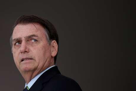 Presidente Jair Bolsonaro no Palácio do Planalto 12/03/2019 REUTERS/Ueslei Marcelino