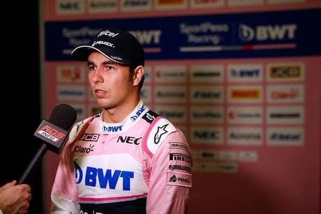 Perez está de olho em resultado especial no GP da Austrália