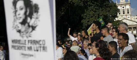 Marielle Franco: image da vereadora assassinada virou símbolo em protestos pelo Brasil