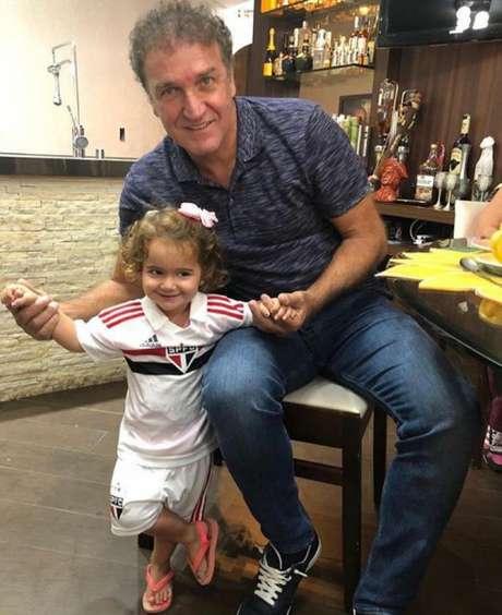 Cuca com a neta Eloah - FOTO: Divulgação