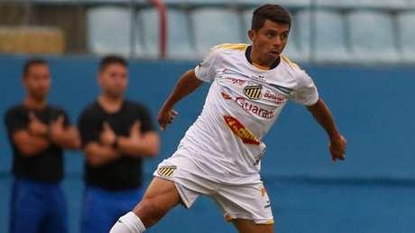 O atacante Felipe Marques projetou o duelo de seu time diante do Santos (Foto: Fernando Roberto/Divulgação)