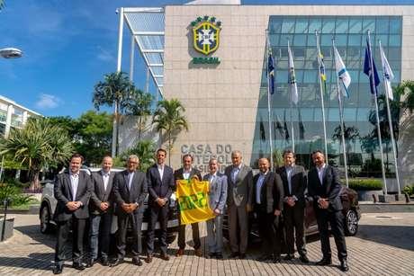 Fiat é a nova patrocinadora da Seleção Brasileira (Foto: Divulgação/CBF)