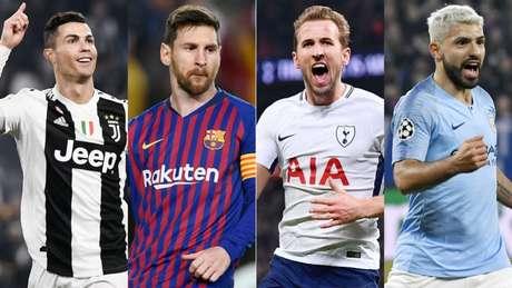 Liga dos Campeões chega na fase quartas de final (Foto: AFP)