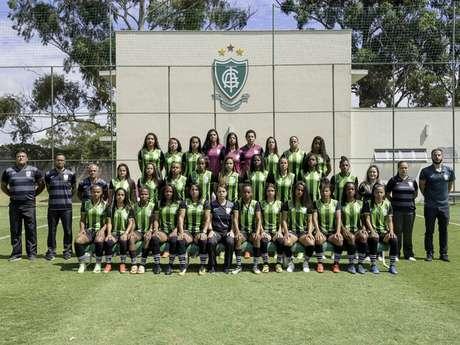 As meninas do América-MG estreiam no Brasileiro A2 contra o São Paulo, mas sem data e horário confirmados-Divulgação/América-MG