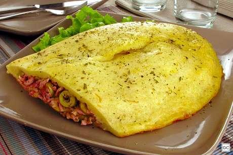 Pastelão napolitano de batata-doce