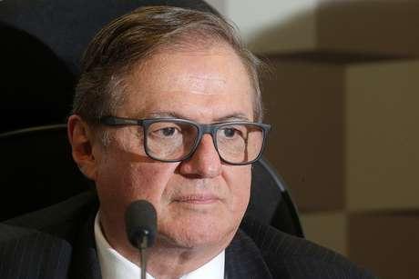 O ministro da Educação, Ricardo Vélez Rodríguez, expõe as diretrizes do ministério na Comissão de Educação, Cultura e Esporte do Senado Federal