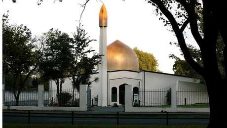 A mesquita Al Noor, no centro de Christchurch, foi um dos alvos do ataque