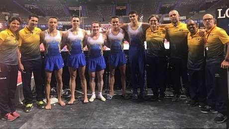 Seleção brasileira obteve o terceiro lugar geral no masculino