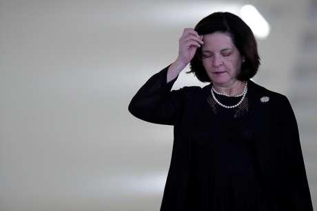 Procuradora-geral da República, Raquel Dodge, após reunião em Brasília 12/03/2019 REUTERS/Ueslei Marcelino