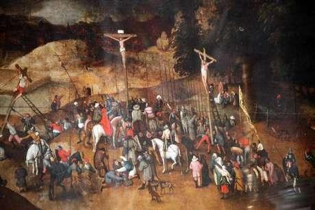 """""""Crucificação"""", de Pieter Bruegel, o Jovem"""