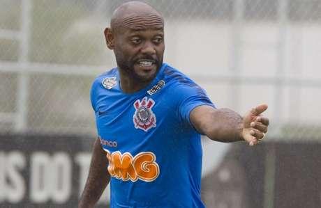 Love foi contratado no fim de janeiro pelo Corinthians (Foto: Daniel Augusto Jr/Ag. Corinthians)