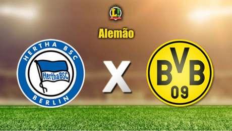 )Pressionado, Borussia Dortmund visita o Hertha Berlim pelo Alemão (Foto: Reprodução L!TV