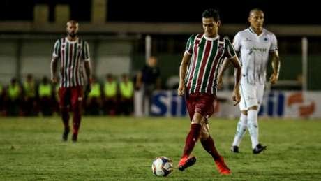 Camisa 10 teve uma atuação discreta contra o Boavista (FOTO: LUCAS MERÇON / FLUMINENSE F.C.)