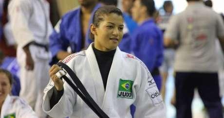 Sarah Menezes é esperança de medalha para o Brasil no torneio na Rússia (Foto: Divulgação CBJ)
