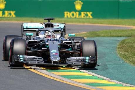 GP da Austrália de F1: Hamilton lidera último treino livre e mantém domínio em Melbourne