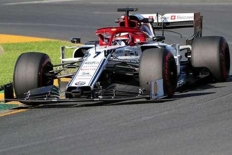 Raikkonen afirmou não ter feito uma boa volta no Q3