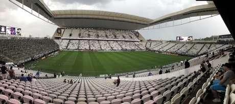 Arena Corinthians vai receber a partida entre Timão e Oeste na tarde de domingo (Foto: Ana Canhedo/Lancepress!)