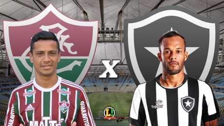 Vai rolar 'lei do ex'? Cícero e Bruno Silva medirão forças neste domingo, no Maracanã (Foto: Arte LANCE!)