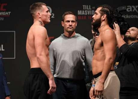 Till e Masvidal prometem um combate movimentado na luta principal em Londres (Foto: Getty Images/UFC)
