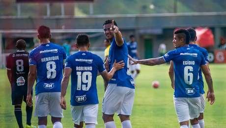 Cruzeiro bateu o Tupi por 3 a 0 pelo Campeonato Mineiro