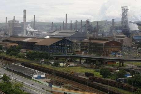 Vista da unidade da CSN em Volta Redonda (RJ)