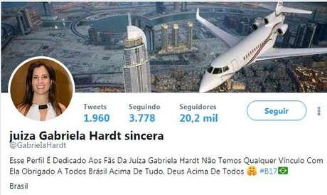 Juízes dizem que 'Gabriela Hardt sincera' não é de Gabriela Hardt