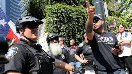 Os Patriot Prayer já organizaram diversas manifestações em Portland