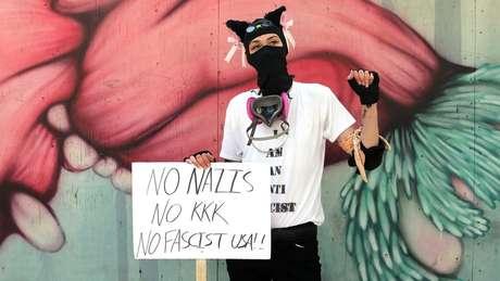 Os antifascistas também comparecem ao barril de pólvora que se tornou Portland