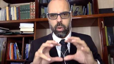 Allan dos Santos é um dos sócios do site Terça Livre