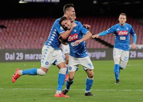 Napoli venceu a Udinese