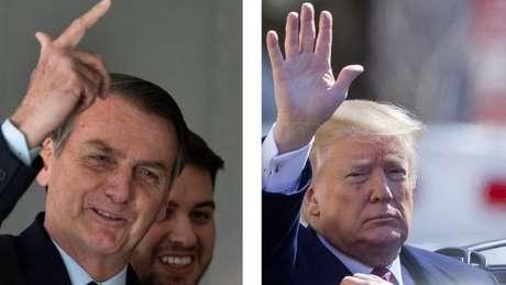 'É o começo de uma parceria pela liberdade e prosperidade, como os brasileiros sempre desejaram', disse Bolsonaro