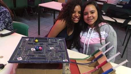 Alguns alunos de Garofalo já decidiram que querem ser físicos, engenheiros ou programadores